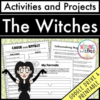 The Witches: Reading Response Activities and Projects