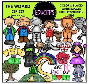The Wizard Of Oz Clip Art Bundle