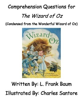 The Wizard of Oz (Condensed Version) Book Study