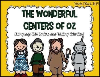 The Wonderful Centers of Oz {Language Arts Centers and Wri