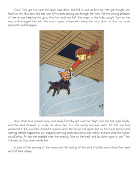 The Wonderful Wizard of Oz Printable Story by L. Frank Bau