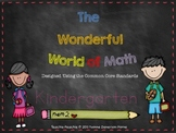 The Wonderful World of Math PK-1st Grade