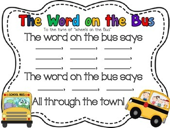 The Word on the Bus