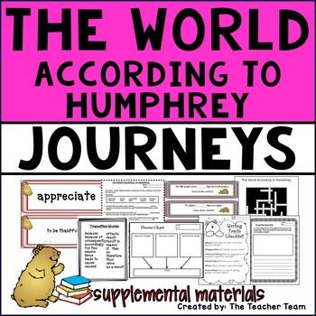 The World According To Humphrey Journeys Fourth Grade Supp