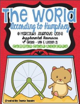 The World According to Humphrey (Journeys 4th Gr. - Supple