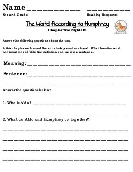 The World According to Humphrey Sheets