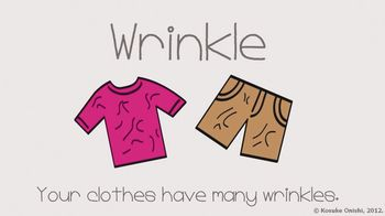 The World's Cutest Vocabulary Video - wrinkle