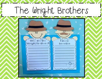The Wright Brothers Craftivity