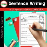 SENTENCES {The Write Stuff for Beginning Writers}