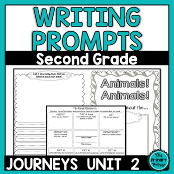 Journeys SECOND Grade The Write Stuff:  Writing Papers for
