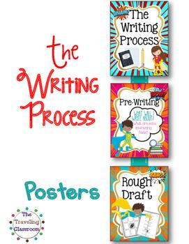 The Writing Process - Super Hero Theme