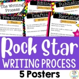 The Writing Process (5 Posters) - Rock and Roll Theme