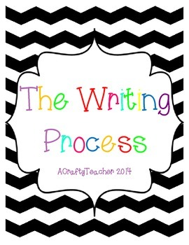 The Writing Process - Chevron Theme