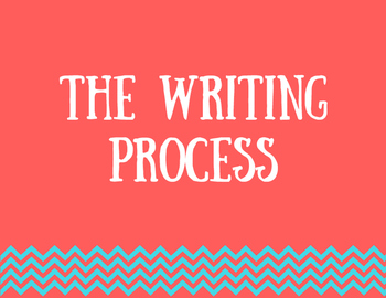 The Writing Process Clip Chart or Display