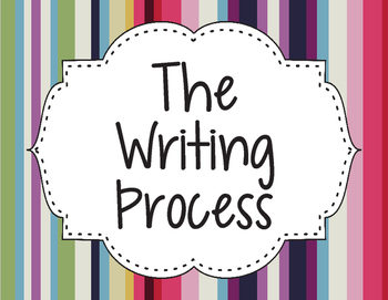 The Writing Process Poster Freebie
