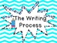 The Writing Process Signs- Chevron