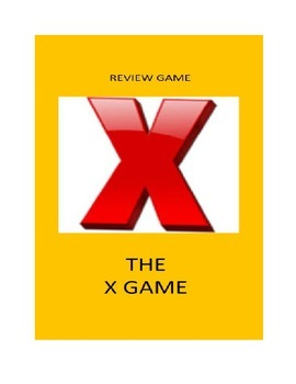 Review Game For Any Classroom: The X Game
