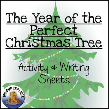 The Year of the Perfect Christmas Tree Activity Pack