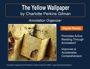 """""""The Yellow Wallpaper"""" by Charlotte Perkins Gilman: Annota"""
