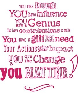 "The ""You Matter"" Manifesto"