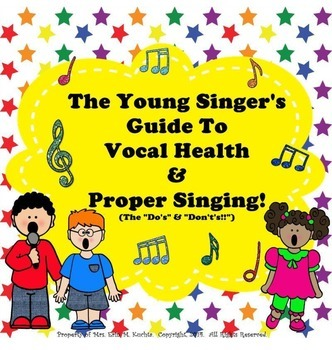 The Young Singer's Guide To Vocal Health & Proper Singing