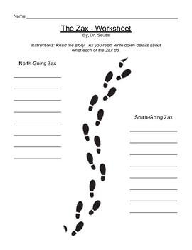 The Zax by Dr. Seuss