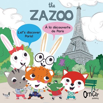 French-English bilingual eBook about Paris