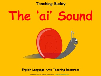 The ai Sound (PowerPoint and worksheets)