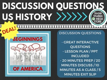 Discussion Questions The Beginnings of America US History
