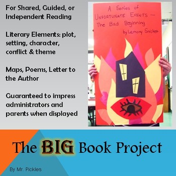 The Big Book Project: The best book report project ever (g