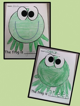 The color GREEN craft