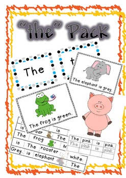 """""""The"""" pack- high frquency words, commonly used words, oxfo"""