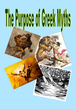 The purpose of Greek myths