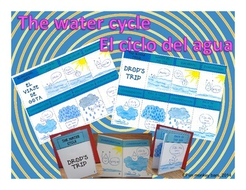 The water cycle. El ciclo del agua