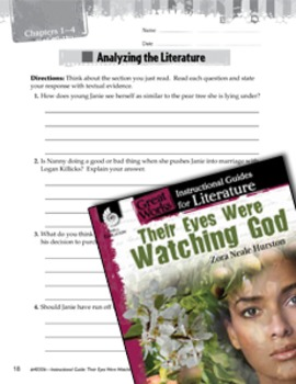 Their Eyes Were Watching God Leveled Comprehension Questions