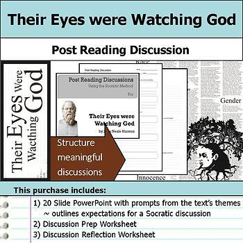 Their Eyes were Watching God - Socratic Method - Post Read