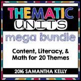 Thematic Units Bundle