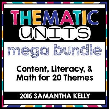 Thematic Units Bundle