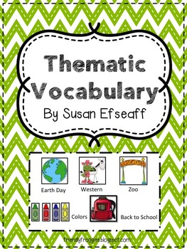 Thematic Vocabulary - Words for Writers - Word Wall and In