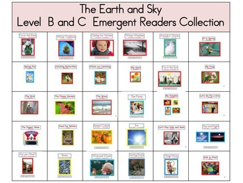 Theme 4 The Earth and Sky Emergent Readers Level B and C C