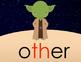 Theme 5 Houghton Mifflin sight words {1st Grade} STAR WARS