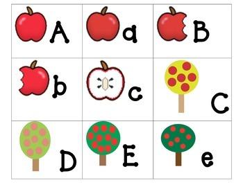 Theme ABC's:  Apples ABC's