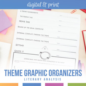 Theme Activities for Any Novel or Short Story