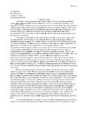 Theme Analysis Essay - MODEL