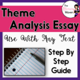 Theme Analysis Essay: Step by Step Writing Guide for Use W