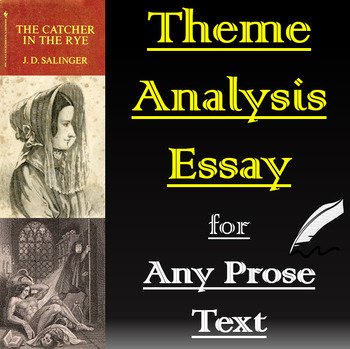 Theme Analysis Essay with Brainstorming, Sample Paragraphs