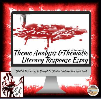 Shakespeare's Macbeth: Theme Analysis and Theme Literary R