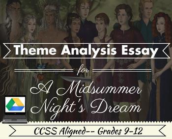 Shakespeare's A Midsummer Night's Dream: Theme Analysis-Di