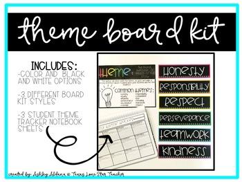 Theme Board Kit