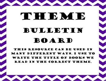 Theme Bulletin Board